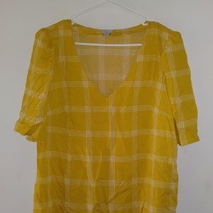 A New Day Womens Short Sleeve Blouse - L